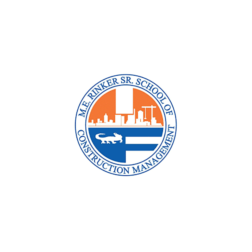 M.E. Rinker Sr. School of Construction Management at the University of Florida Logo